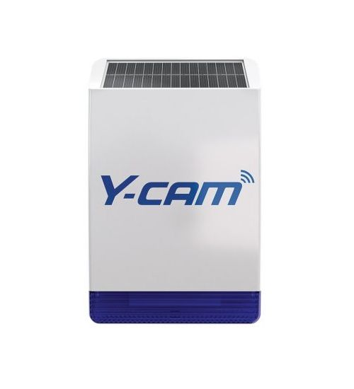 Y-cam Protect Solar Outdoor Siren - външна соларна сирена