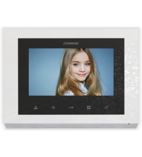 Цветен видеодомофон Commax CMV-70S-W