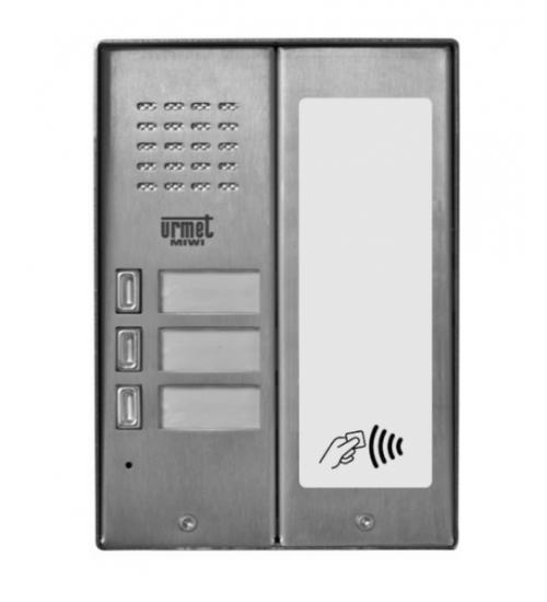 Домофонно табло за 3 абоната с RF четец - URMET MIWUS 5025/3D-RF
