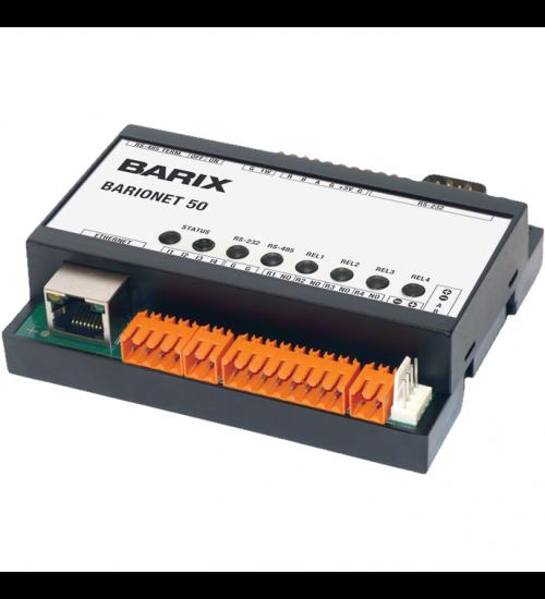 TCP/IP модул за управление на I/O контакти - BARIONET 50