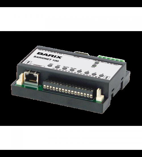 TCP/IP модул за управление на I/O контакти - BARIONET 100