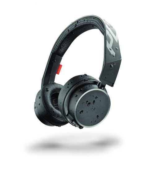 Bluetooth слушалка Plantronics BACKBEAT FIT 500 - Black