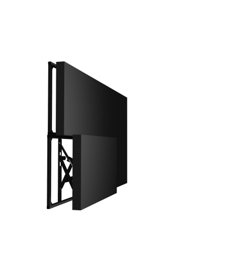 Mонтажна метална основа/рамка за стена  на 49'' дисплей HB-3699-G-B