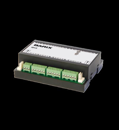 Универсално I/O устройство, разполагащо с 12 изхода и 12 входа - Barix IO12