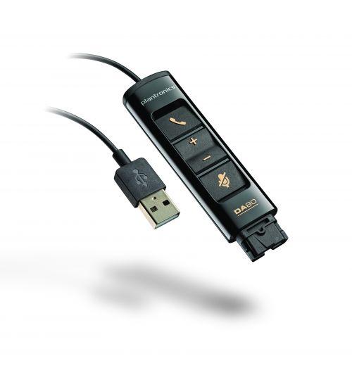 Дигитален адаптер Plantronics DA80/USB