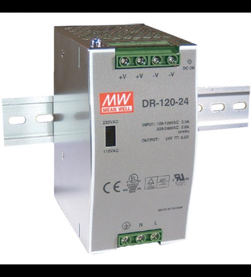 DIN индустриален адаптор MEANWELL DR-120-48