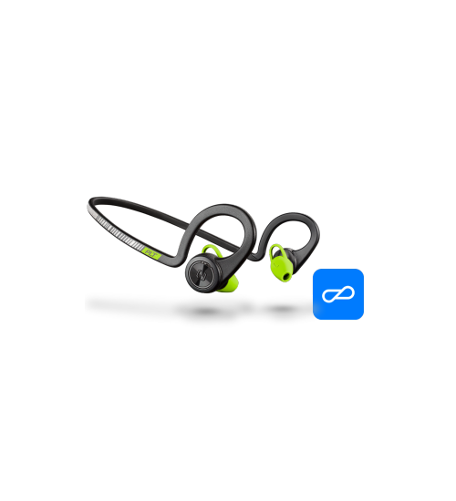Безжична стерео слушалка Plantronics Backbeat FIT Black Core