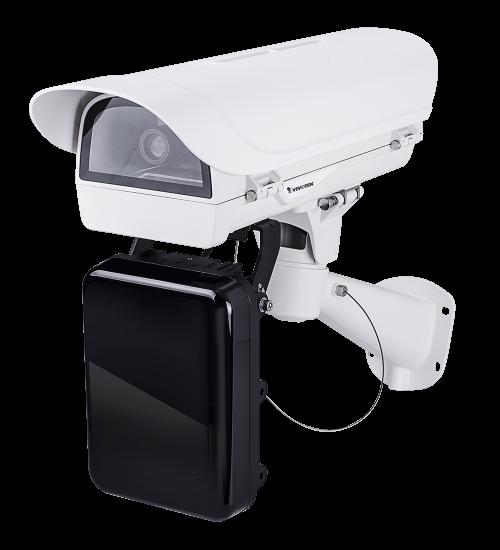 2MP мрежова LP камера комплект Vivotek IP9165-LPC Kit  за разчитане на автомобилни номера при скорост до 90 км/ч.