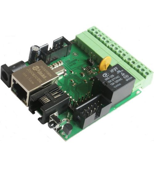 TCP/IP модул за управление на I/O контакти LANCONT-V2