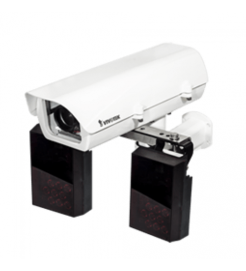 2MP мрежова LP камера комплект Vivotek IP816-LPC KIT за разчитане на автомобилни номера при скорост до 90 км/ч.