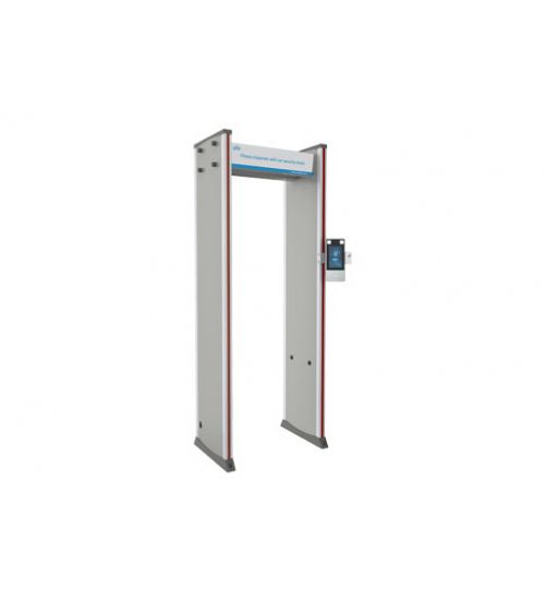 Рамка за измерване на температура и металдетектор с LCD дисплей UNV OPD-533TM