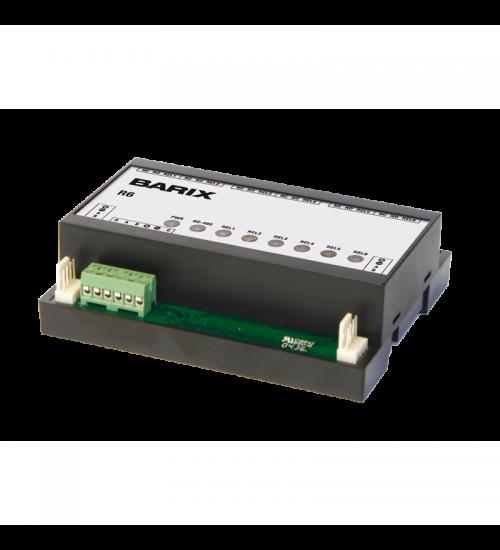 Универсално I/O устройство, включващо 6 релета с висока мощност - Barix R6