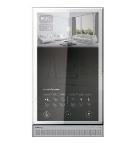 Цветен видеодомофонен панел с IoT комуникация Commax Smart Mirror
