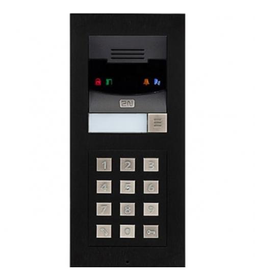 Домофонно табло 2N® Helios IP Verso базов модул с камера с един бутон