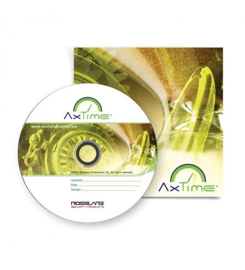 AxTime софтуер ROSSLARE за контрол на РВ към КД AxTrax